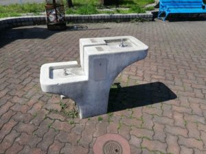 宮本台緑地 水道