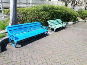 宮本台緑地 ベンチ