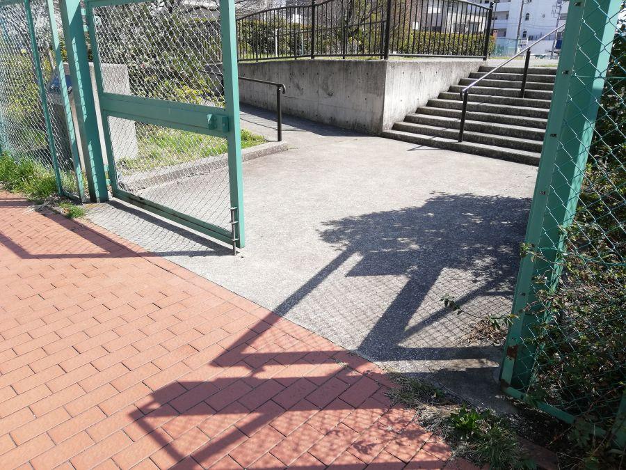 南三堤公園 入り口