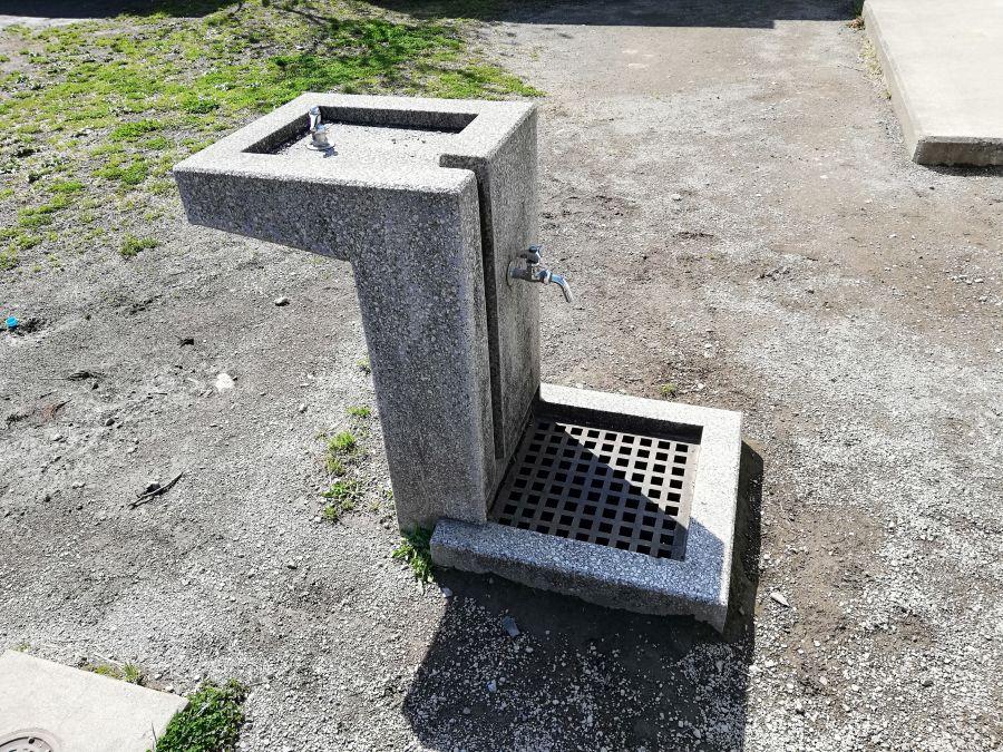 南三堤公園 水道