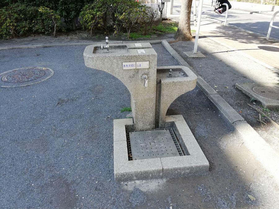 東三はなみずき児童公園 水道