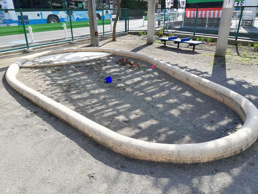 南六郷一丁目児童公園 砂場