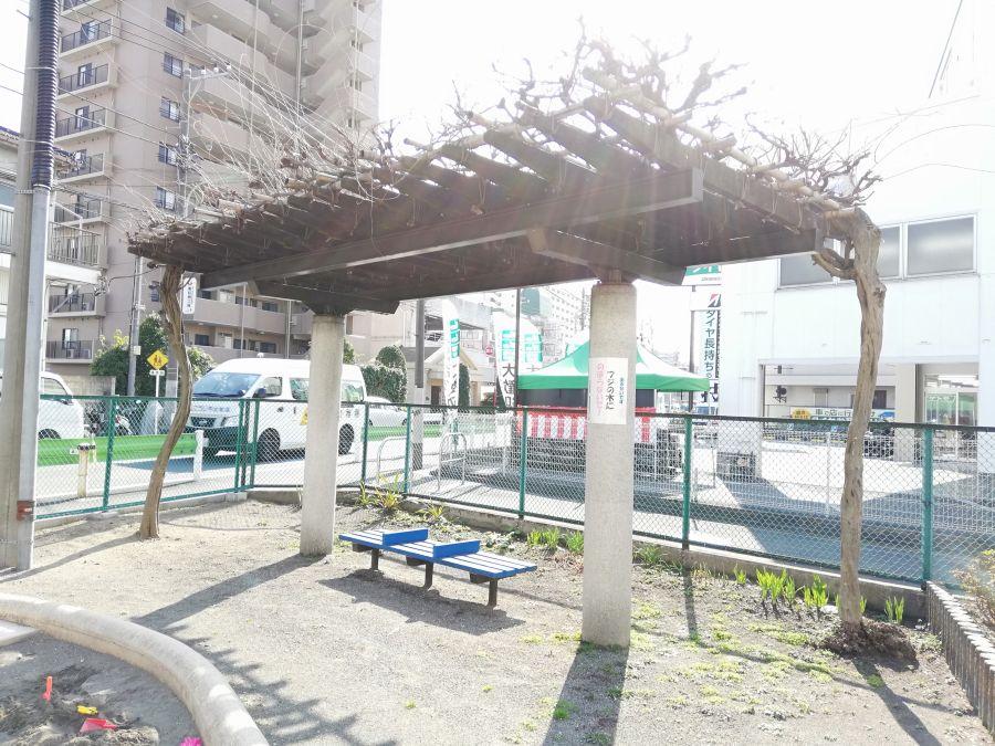南六郷一丁目児童公園 ベンチ