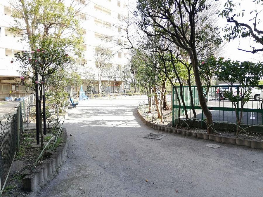 たいよう児童公園 公園の入り口
