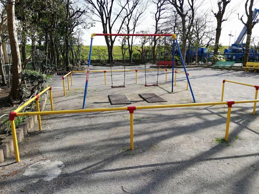 たいよう児童公園 ブランコ