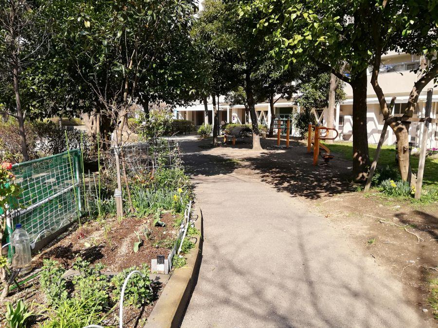 南六郷公園 遊歩道