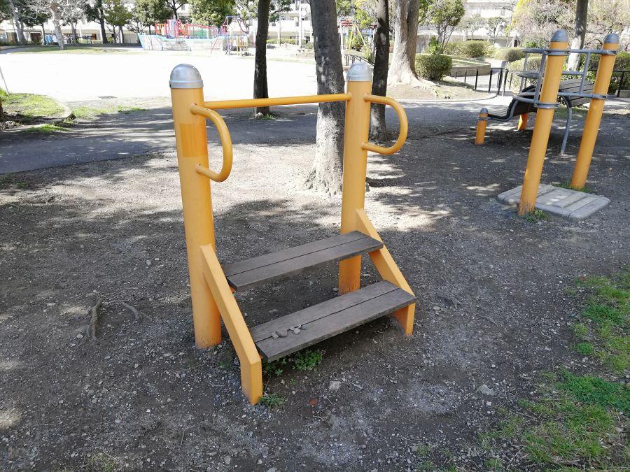 南六郷公園 健康器具