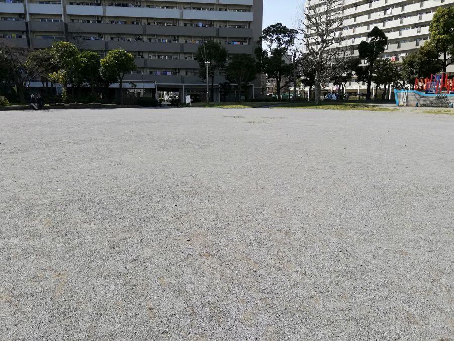 南六郷公園 広場