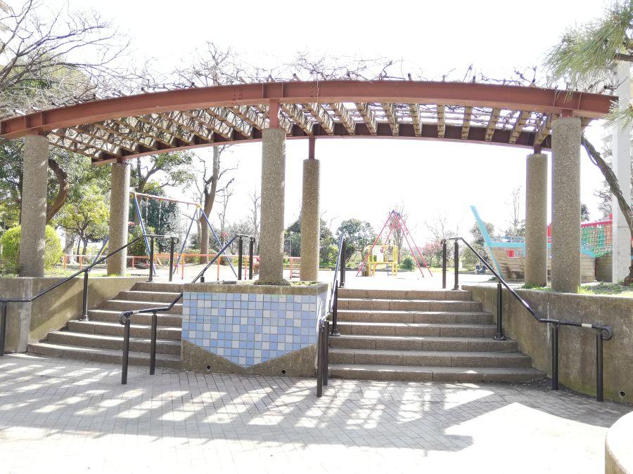 南六郷公園 階段