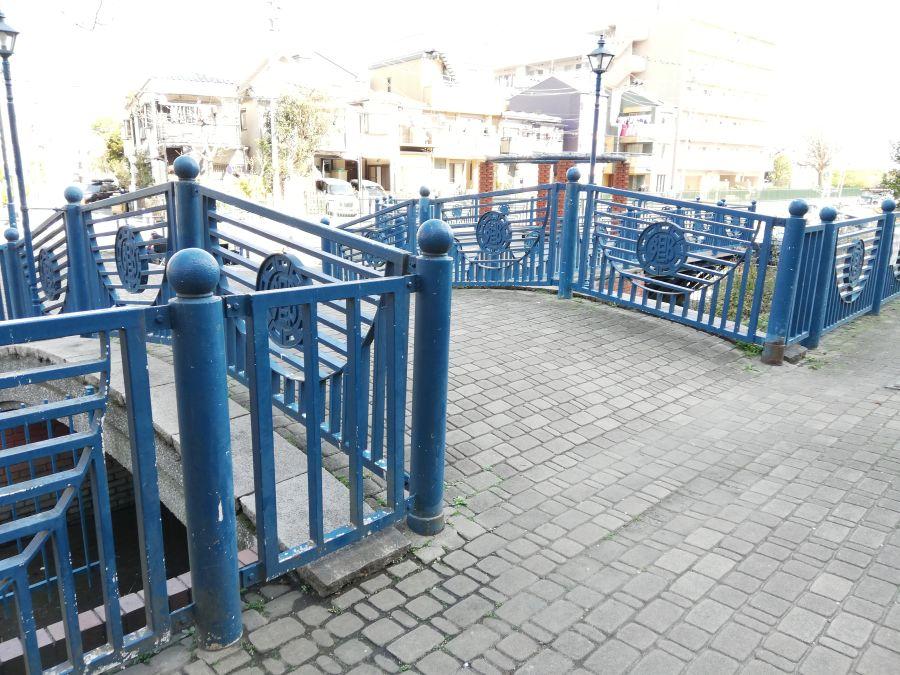 南六郷緑地 橋