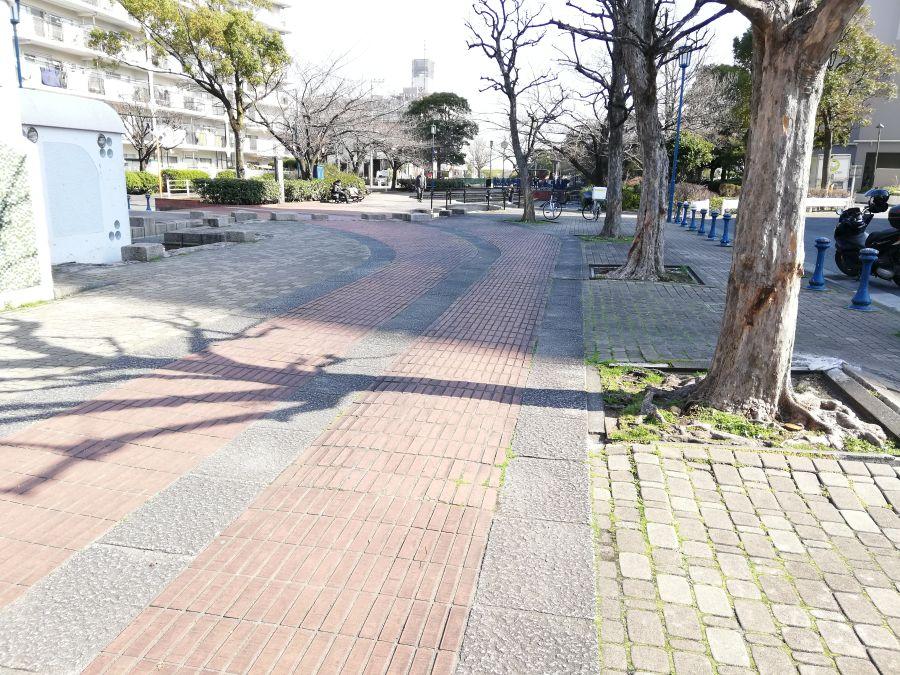 南六郷緑地 遊歩道