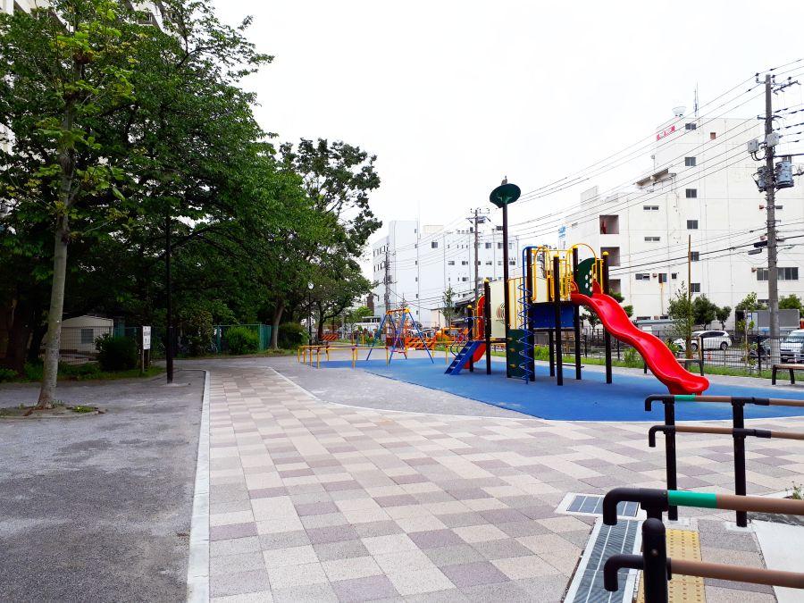 大田区 東糀谷第一公園 遊具