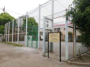 大田区 西糀谷さざんか公園 キャッチボール場