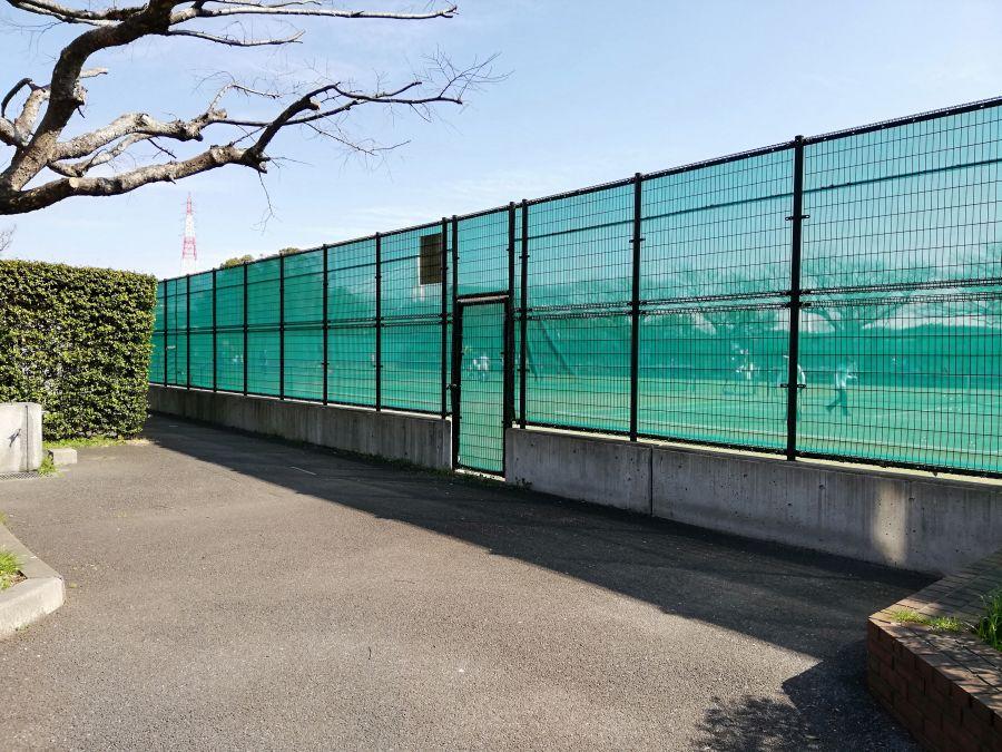 大田区 本羽田公園 テニスコート