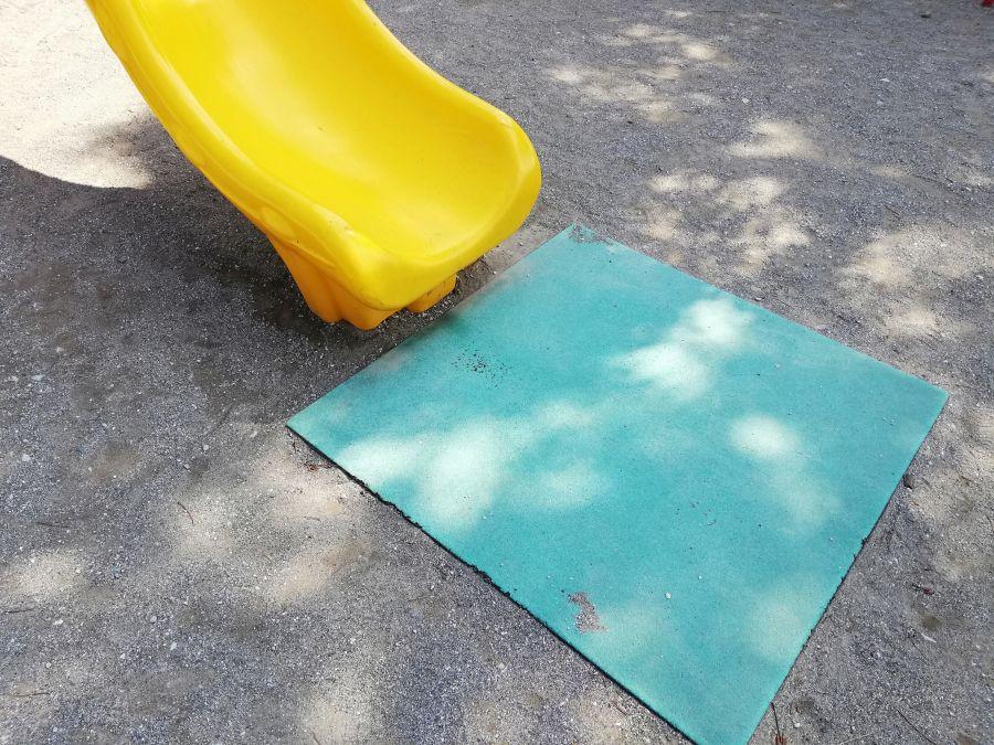 本羽田一丁目公園 遊具 すべり台