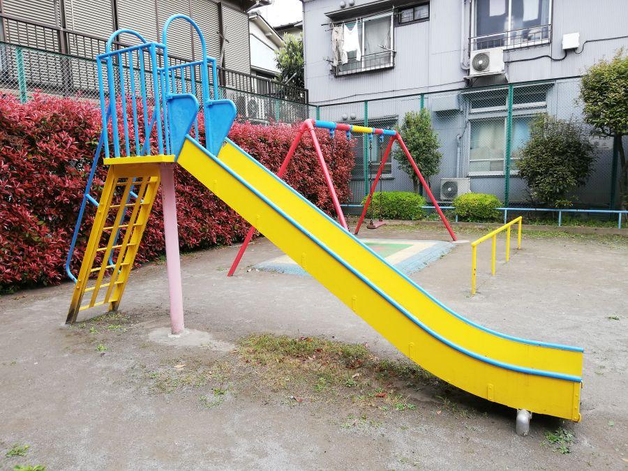 大田区 仲町児童公園 遊具
