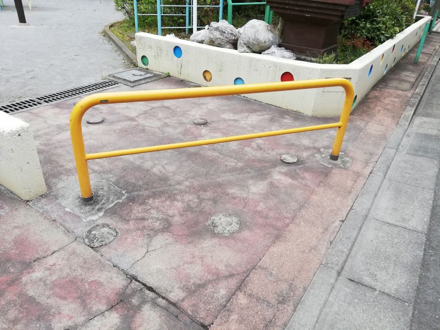 羽田三丁目第三児童公園 入口
