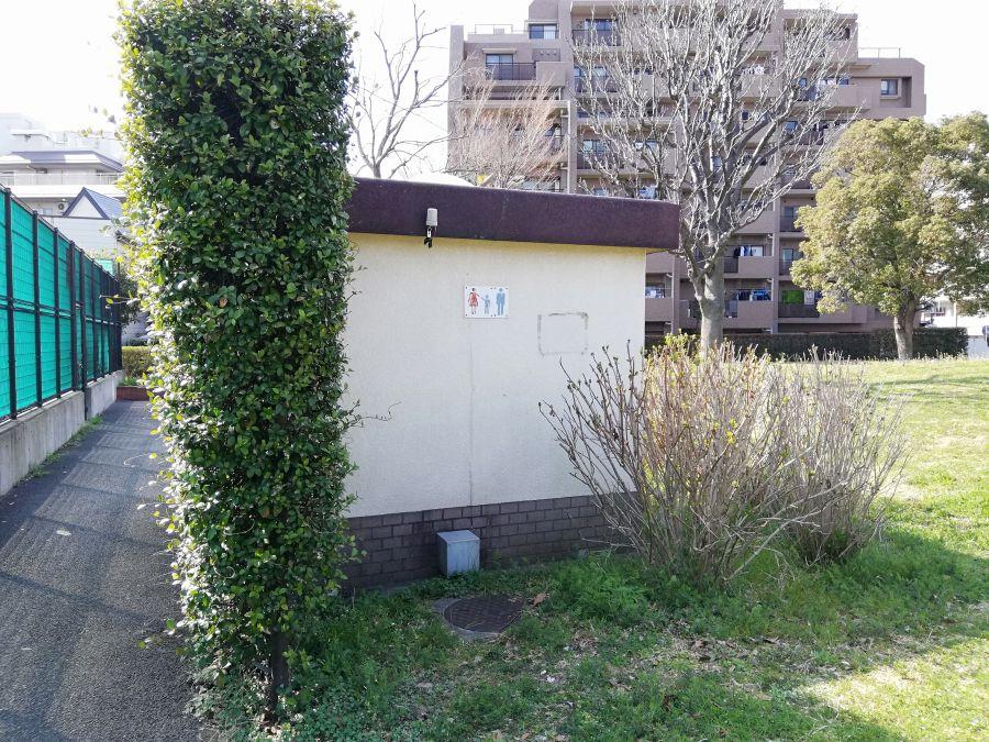 大田区 本羽田公園 公衆トイレ