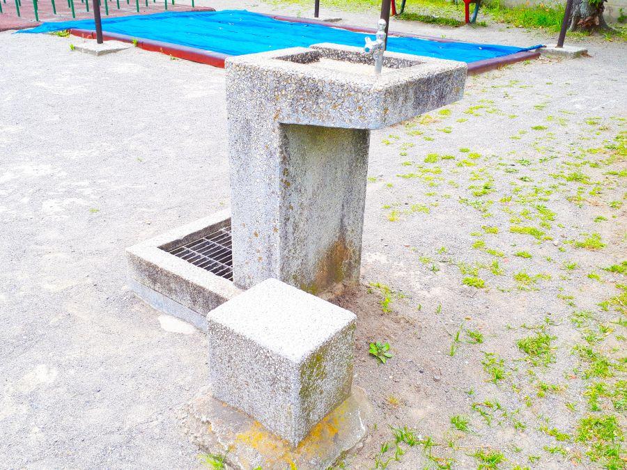 大田区 旭児童公園 水道