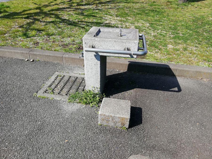 大田区 本羽田公園 水道