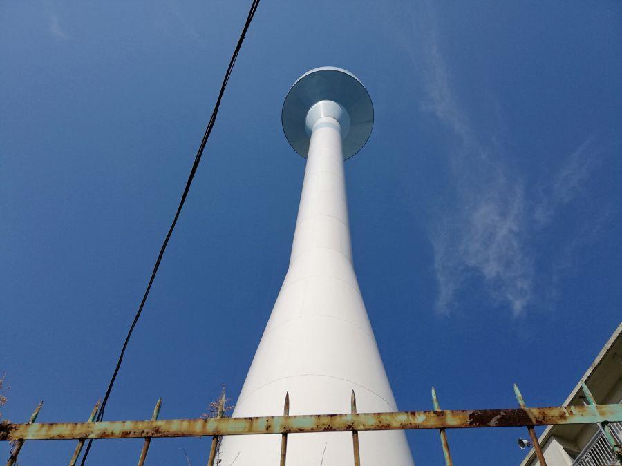 本羽田二丁目児童公園 給水塔