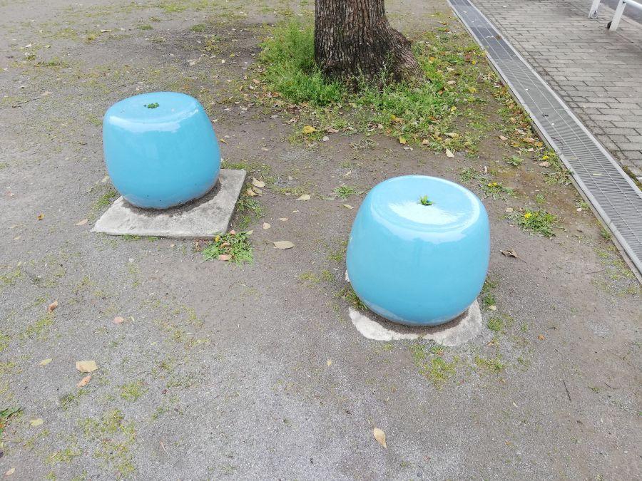 羽田三丁目第一児童公園 ベンチ