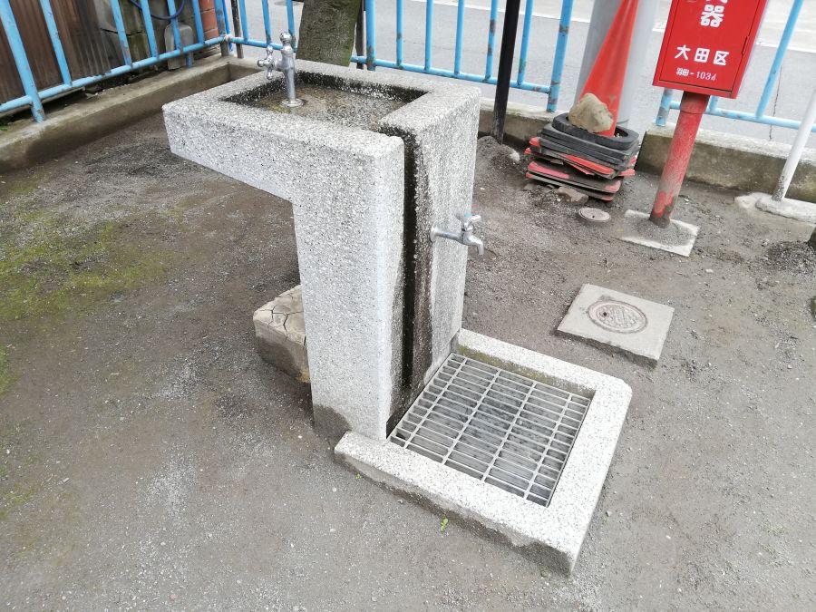 上東児童公園 水道
