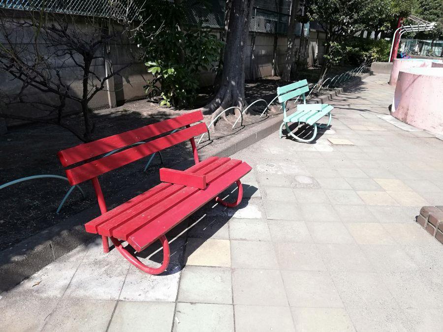 八幡塚公園 ベンチ