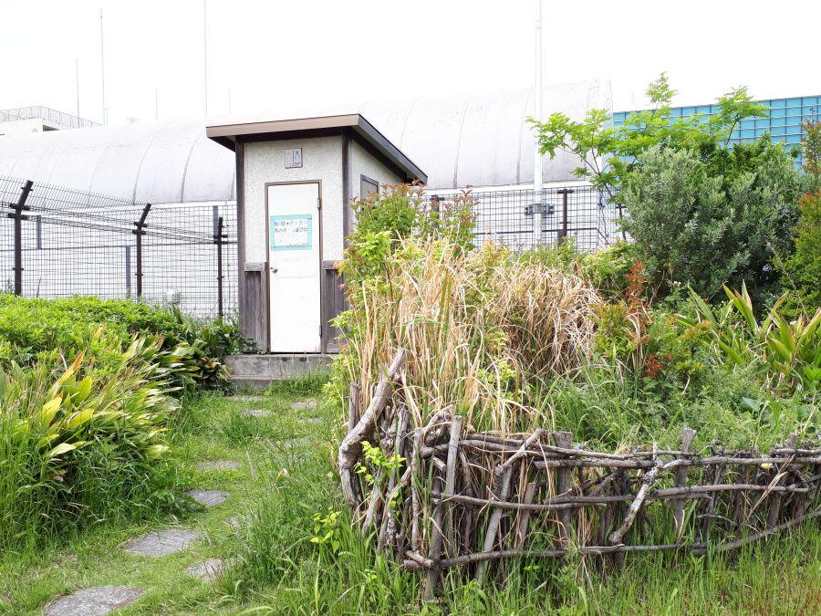 大田区 東糀谷あおぞら公園 公衆トイレ