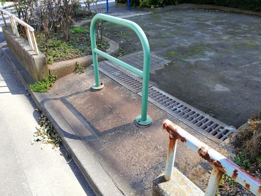 本羽田第一児童公園 入口