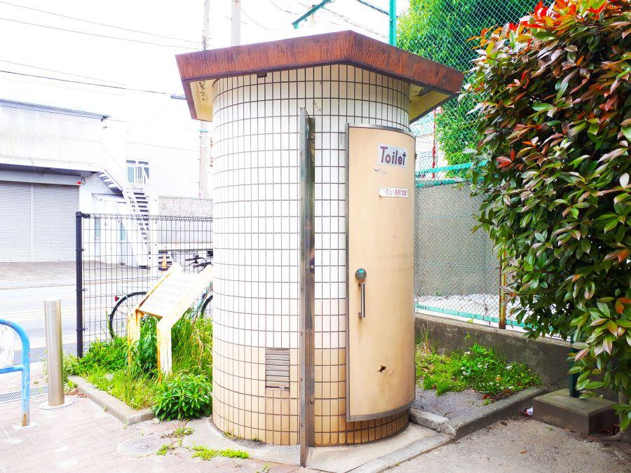 大田区 東糀谷さくら児童公園 公衆トイレ