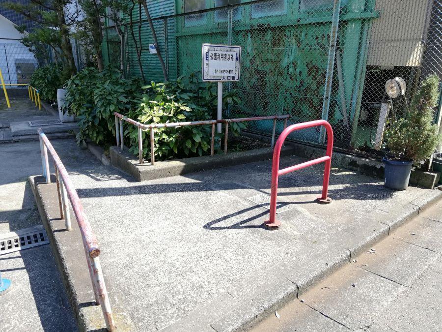 本羽田第一児童公園 駐輪場