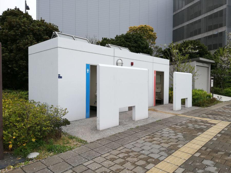 あさひ海老取川公園 公衆トイレ