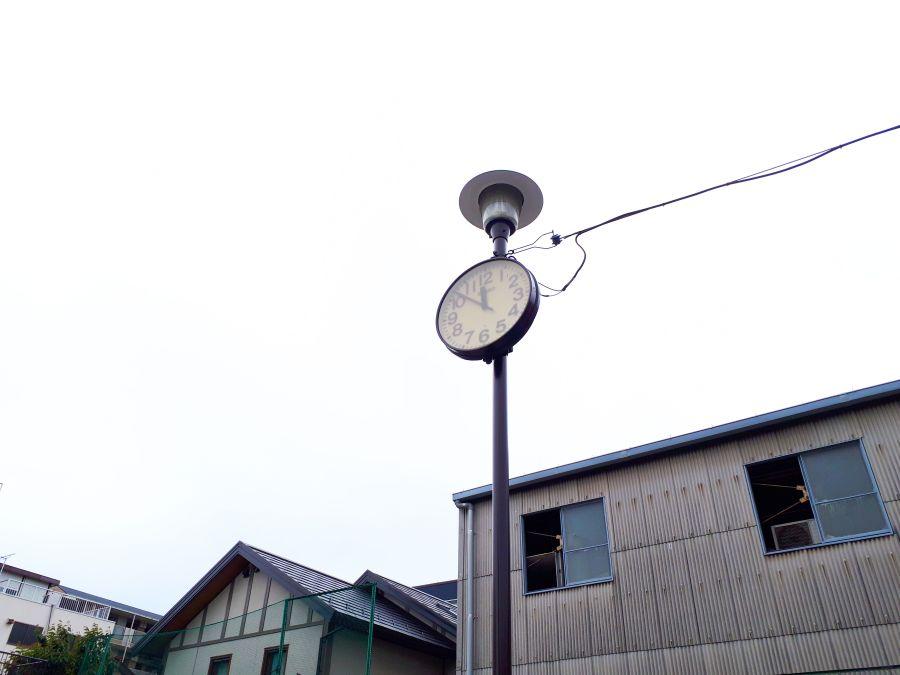 大田区 旭児童公園 時計