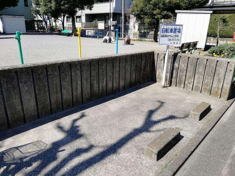 本羽田本町公園 駐輪場