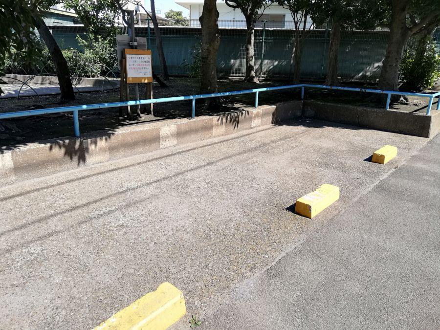 八幡塚公園 駐輪場