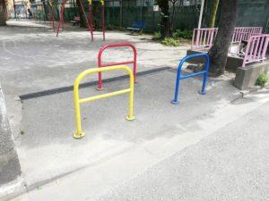 西糀谷三丁目児童公園 入口
