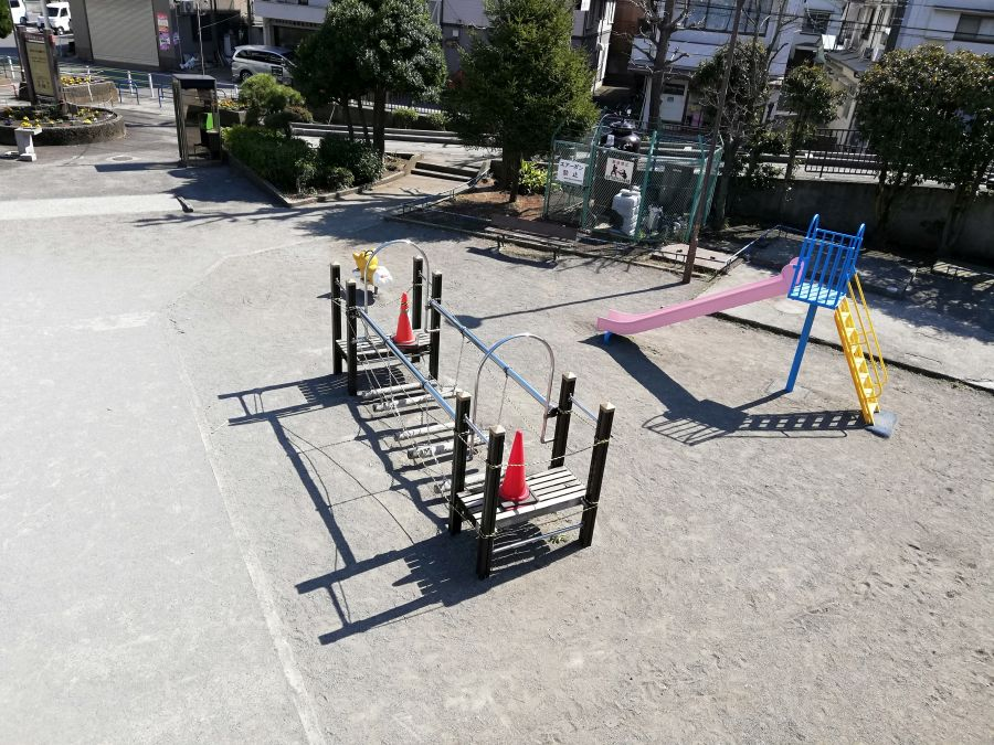 本羽田第三公園 遊具