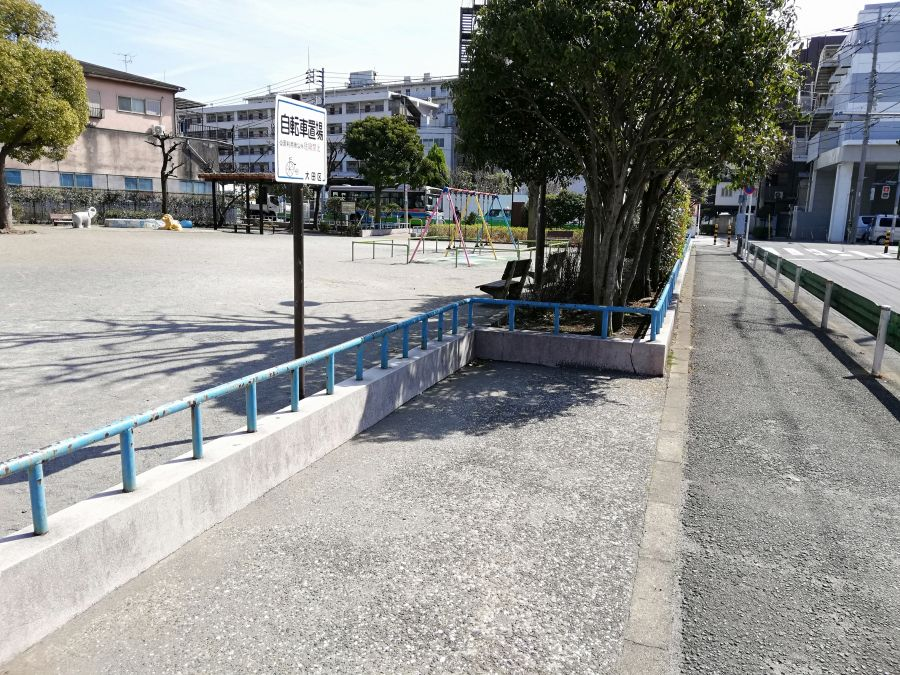本羽田一丁目公園 駐輪場