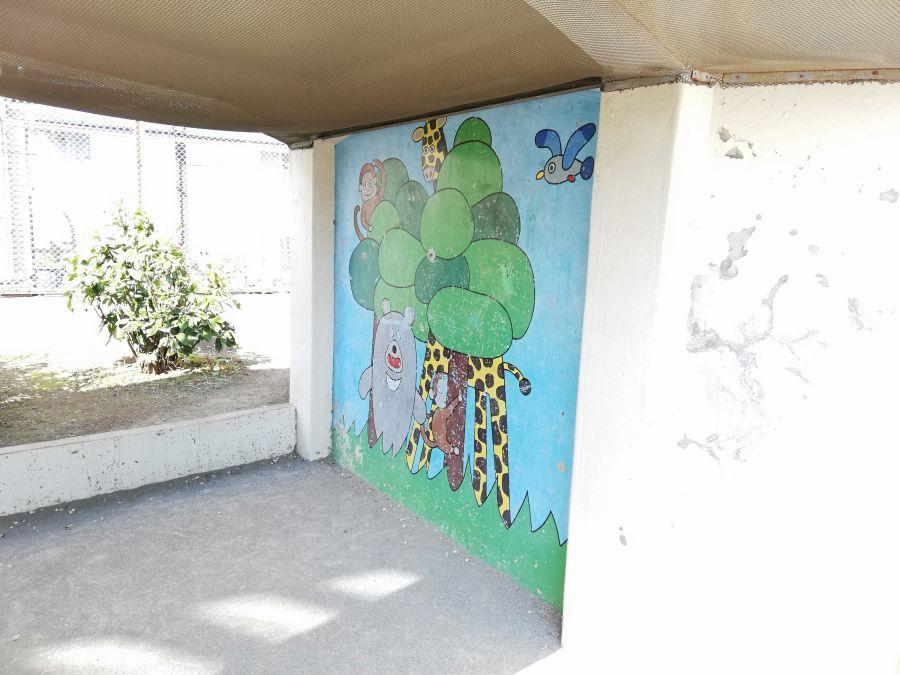 本羽田第三公園 壁画