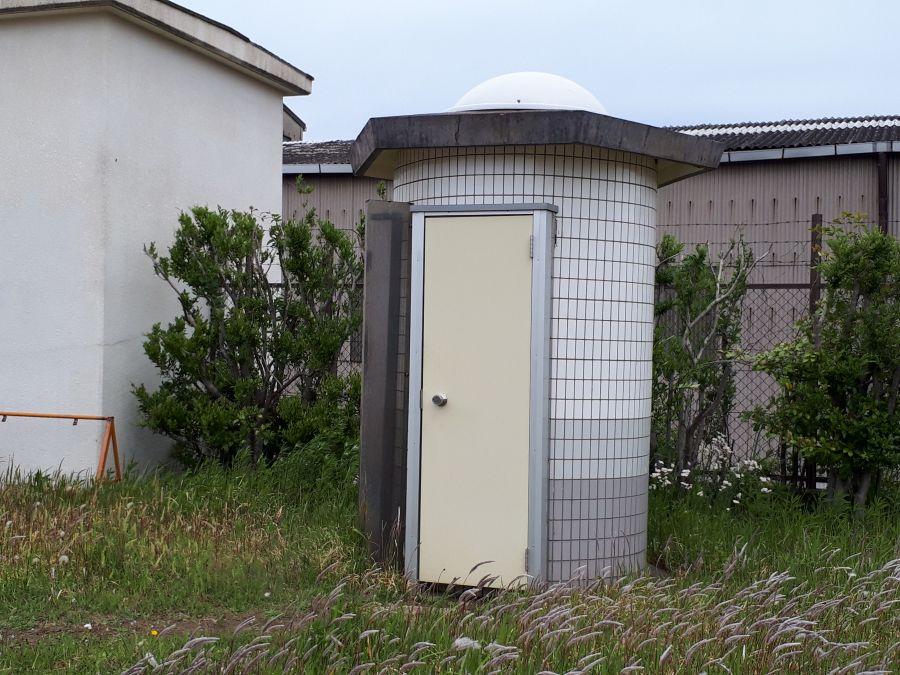 大田区 海老取川公園 公衆トイレ