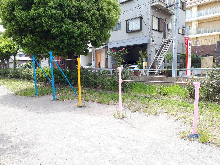 大田区 北前堀緑地 遊具