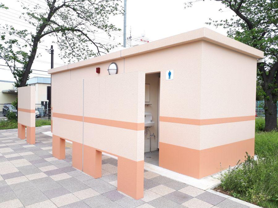 大田区 東糀谷第一公園 公衆トイレ