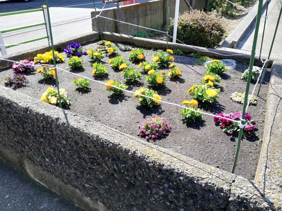 本羽田第三公園 花壇