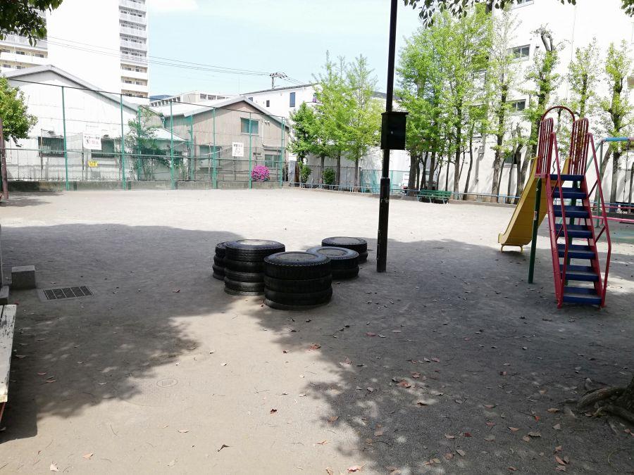 羽田五丁目児童公園 園内