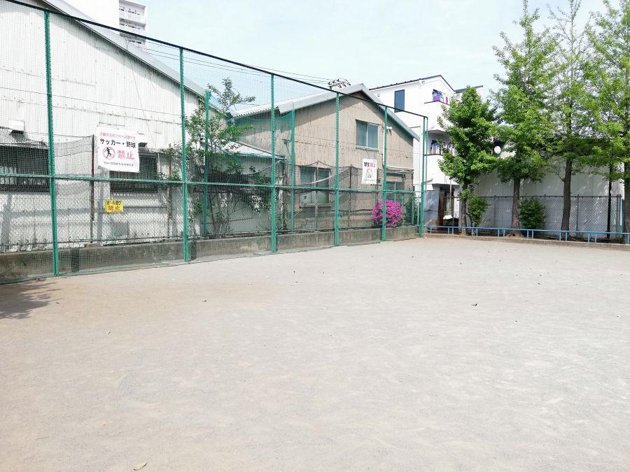 羽田五丁目児童公園 フェンス