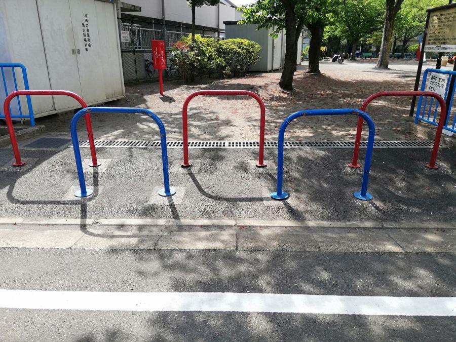 羽田一丁目児童公園 入り口