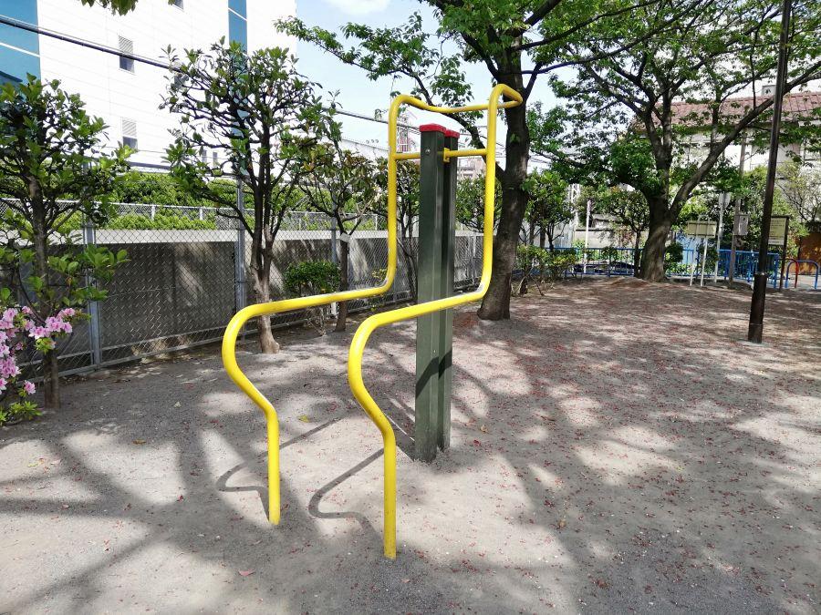 羽田一丁目児童公園 健康器具