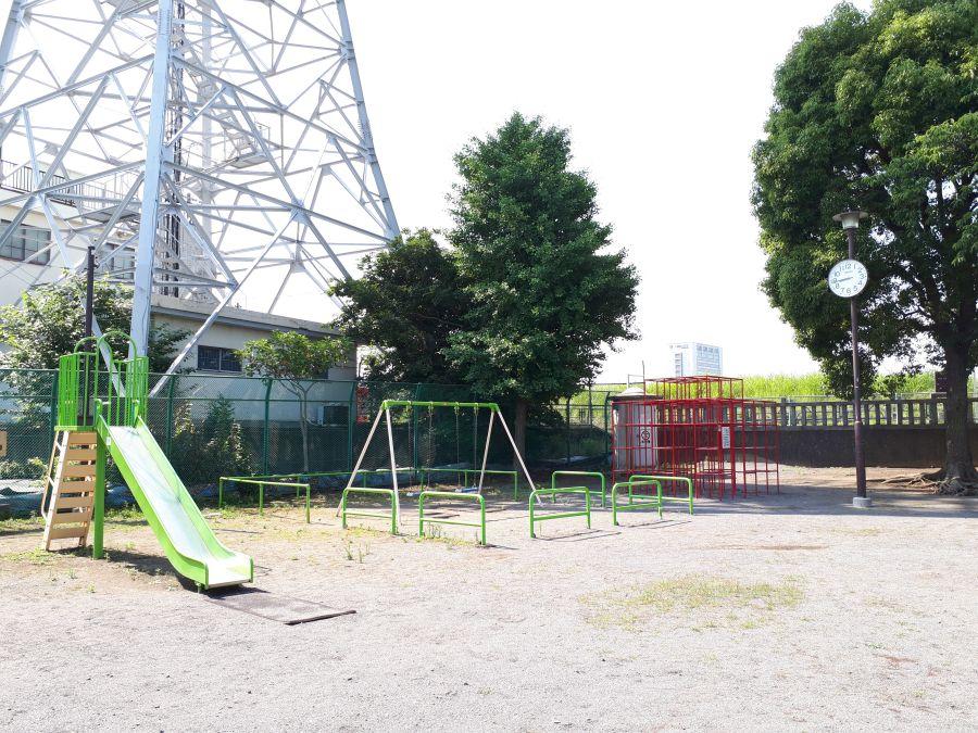 大田区 古市児童遊園 東八幡神社