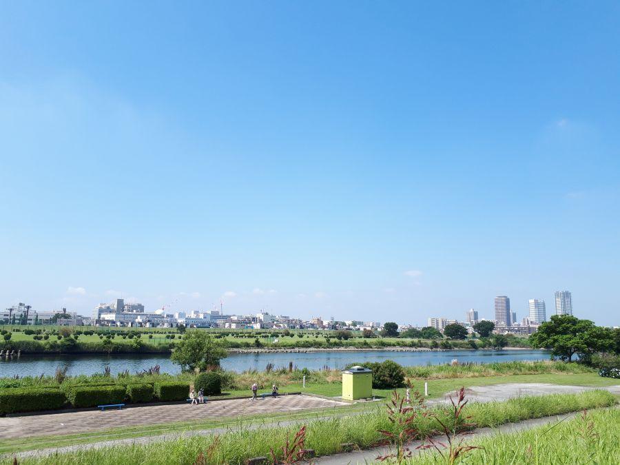 大田区 多摩川大橋緑地